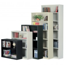 Bookcase 35X13X84 Snap Together Metal Specify Color