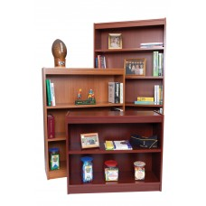 Bookcase 4 Shelf 120 Lb Heavy Duty 1'' Shelves 60H X 36W X 12D Specify Color