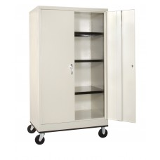 Mobile Storage Cabinet 36 X 24 X 66 Specify Color