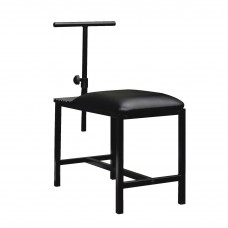 Bench Adjustable Art With Padded Seat 14.5Lx29Wx22.5H Black