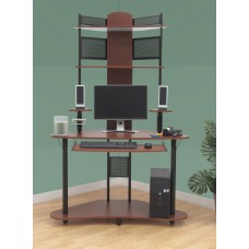 Arch Tower In Cherry / Black