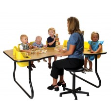 Toddler Table 8 Seat - Select Seat Color - Select Table Top Color - Select Height