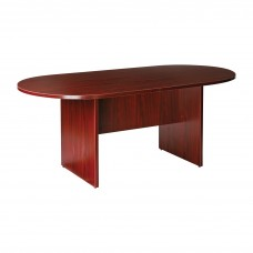 Oval Conference Table  With Base 72'' X 36'' Laminate Specify Color