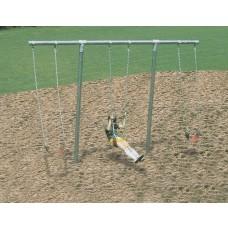 Playground Equip T-Swing W/3 Seats