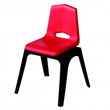 Chair - Royal Prima Stack 13 - Specify Seat Color - Specify Black Or Matching Plastic Leg Color