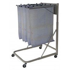 Pivot Mobile Stand Frame Adjusts For Up To 1200 Sheets Putty
