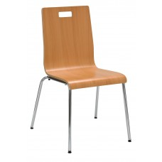 Chair Cafe With Bentwood Shell -Specify Finish