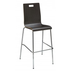 Barstool With Bentwood Shell -Specify Finish
