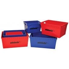 Storage Bin - Small 18.5 X 13.25 X 12 -  Shield - Case Of 4
