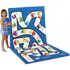 Floor Mat 4 Ft X 8 Ft  Learnarama - Alphabet Maze