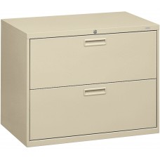 File Lateral 2-Drawer W/Lock Putty Hon582Ll
