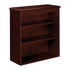 Hutch Bookcase 2-Shelf Traditional Mahogany Hon94210Nn