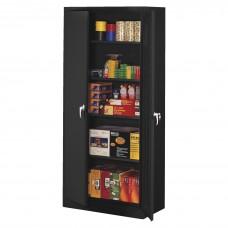 Cabinet Storage Deluxe 78Hx36Wx24D Black Tnn7824Bk