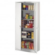 Cabinet Storage Deluxe 78Hx36Wx24D Light Gray Tnn7824Lgy