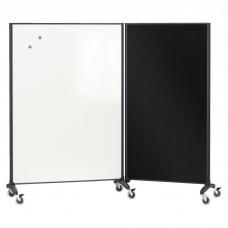 Divider Room Mkr Board 6X3 Quartet Presentation Boards Dry Erase Whiteboard