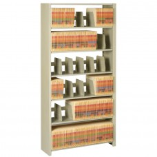 File 7-Shelf Starter Unit 88Hx36Wx12D Sand Tnn1288Pcsd