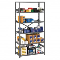 Shelving Commercial 6-Shelves Medium Gray Tnnesp61836Mgy