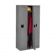 Locker 1 Tier 3 Wide 72X36X18 Medium Gray Tnnsts121872Cmg