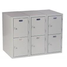 Base 6 Vertical Locker 31H X 36W X 21D - Specify Color
