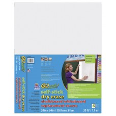 Dry Erase Board Cover Go Write 20X24 In Pack Of 6