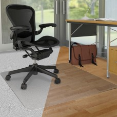 Chairmat Pvc No Stud 45X53'' Defcm23232Duo