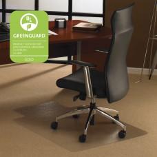 Chair Mat - Wide Lip - 48X60 Rectangle - Clear