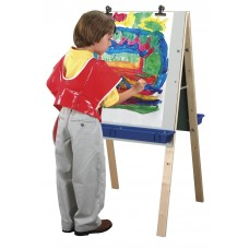 Kit Easel Adjustable With Dry Erase Panels