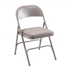 Chair Folding Padded Seat Beige Llr62501 Case Of 4