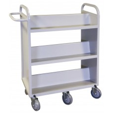 Book Truck Heavy Duty Steel - Specify Paint Color