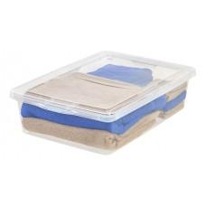 Storage Box Clear Modular 28 Qt