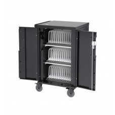 Charging Cart - Corex Charging Cart , 3 Shelves, Holds 30 To 36 Devices
