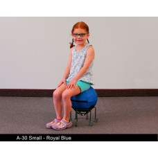 Alertseat Small With Green Base - Specify Seat Color