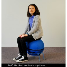 Alertseat Medium With Blue Base - Specify Seat Color