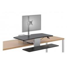 Riser W/Single Monitor Arm - Hons1101