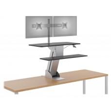 Riser W/Dual Monitor Arm - Hons1102