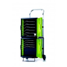 Tech Tub2® Trolley with sync and charge USB hub - holds 10 iPads®