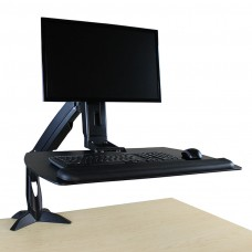 Helium Jr Sit Stand Workstation Single Monitor Mount