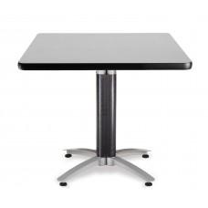 """OFM Square Multi-Purpose Mesh Base Table, 36"""", Gray Nebula"""
