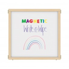 """KYDZ Suite® Panel - A-height - 36"""" Wide - Magnetic Write-n-Wipe"""