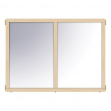 """KYDZ Suite® Panel - A-height - 48"""" Wide - Mirror"""