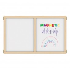 """KYDZ Suite® Panel - E-height - 48"""" Wide - Magnetic Write-n-Wipe"""