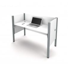 Pro-Biz Simple workstation in White