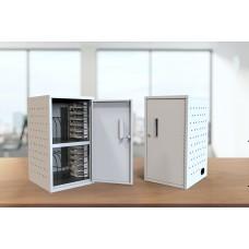 Luxor 12 Tablets/Chromebooks Vertical Wall/Desk Charging Box