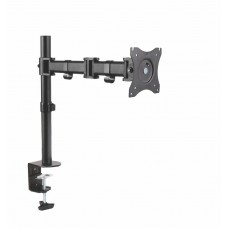 Height Adjustable Articulating Monitor Arm - Single