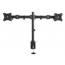 Height Adjustable Articulating Monitor Arm - Double