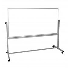 Luxor Reversible Magnetic Mobile 72x40 Whiteboard/ Whiteboard