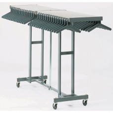 Mobile Folding Coat Rack (100 Capacity)