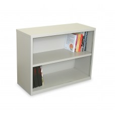 Ensemble Two Shelf Bookcase, 36W x 14D x 27H - Featherstone Finish