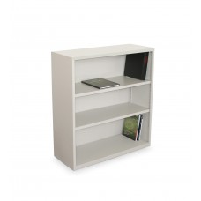 Ensemble Three Shelf Bookcase, 36W x 14D x 27H - Featherstone Finish