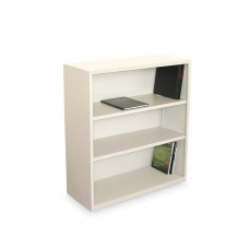 Ensemble Three Shelf Bookcase, 36W x 14D x 27H -Putty Finish